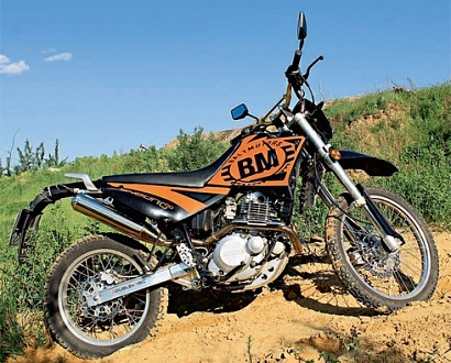Гараж. Baltmotors Enduro 250DD. Часть II.